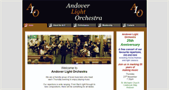Preview of andoverlightorchestra.co.uk